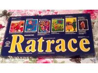 RATRACE VINTAGE BOARD GAME 1973 EDITION. WADDINGTONS. COMPLETE AND VERY GOOD CONDITION.