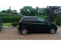 2004 VAUXHALL MERIVA 1.7 CDTI black full year MOT two new tyres on front (£120)