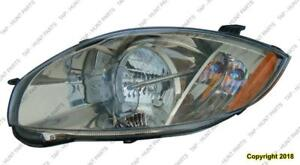 Head Lamp Driver Side Halogen Coupe/Spyder High Quality Mitsubishi Eclipse 2006-2007