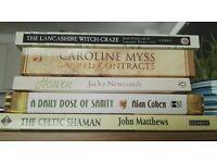 Five spiritual books £10