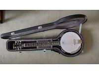 Gold Tone GT750 6 String Banjo (Banjitar) with Grafton Hard Case