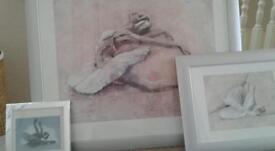 3 ballerina prints