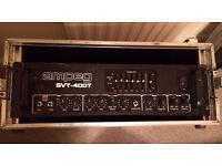 Ampeg SVT 400T Bass amp head