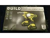 Brand new 18v guild drill and impact
