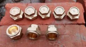 8 x 22mm Compression Stopends.