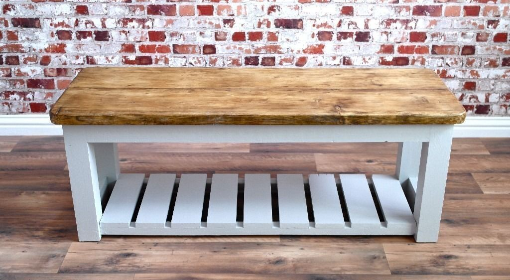 Excellent Rustic Hall Bench Shoe Storage Bench Made From Creativecarmelina Interior Chair Design Creativecarmelinacom