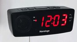 Horologe Usb Alarm Clock Radio - Phone Charger Snooze Clock