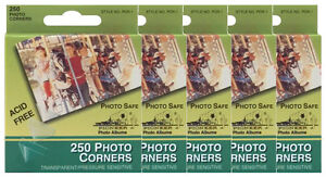 BULK-5-of-Pioneer-Photo-Corners-Clear-Self-Adhesive-250-box