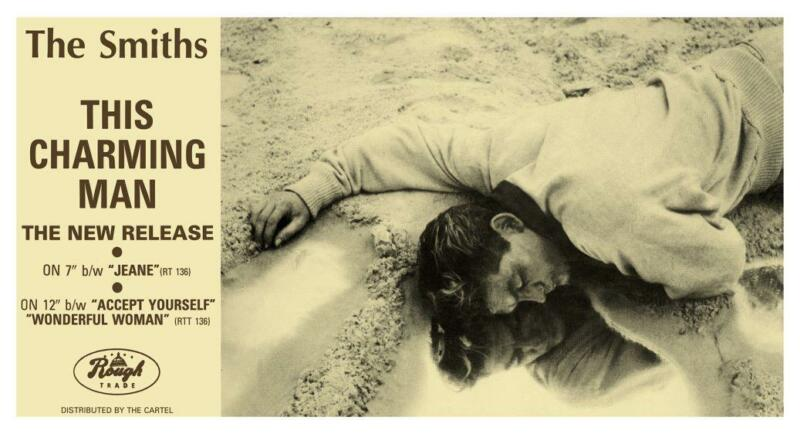 the SMITHS **POSTER**  This Charming Man -  Promo ad - Morrissey Johnny Marr