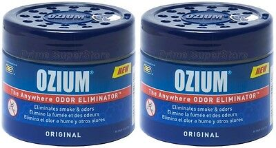 2 OZIUM Original Scent Smoke/Odors Eliminator Air ...