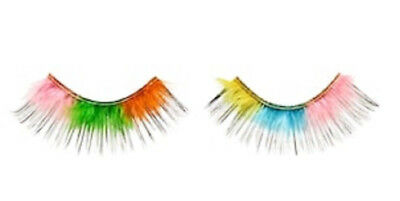 Sephora x MUSEUM of ICE CREAM Rainbow Sherbert FALSE LASHES 1 Pair LIMITED ED