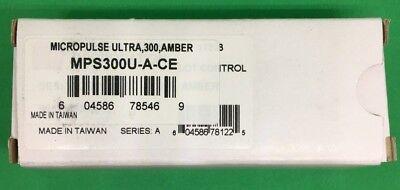 Federal Signal Mps300u-a Amber Micropulse Ultra 3 Class 2 3-led Warning Light