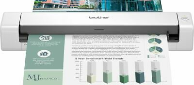 Brother DSmobile DS-740D Duplex Portable Scanner White DS740