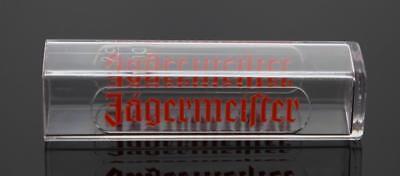 15 Pack Jagermeister Logo Promotional Plastic Shot Glass Rectangle Tubes 2cl - Tube Shot Glass