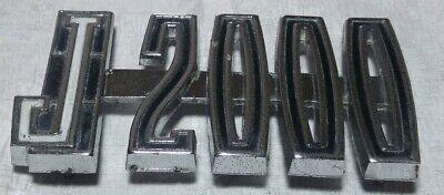 1967~1972 JEEP GLADIATOR/PICK UP J2000 FRONT FENDER NAMEPLATE EMBLEM