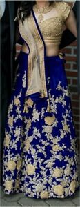 Bridal/Reception Designer Lehenga: Worn Once, Like New!