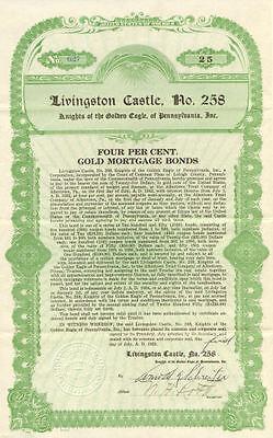 Livingston Castle > Knights of the Golden Eagle bond