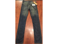 Men's Jeans 'FRENCH CONNECTION' BNWT W28 L32 New Slim Skinny Button Fly