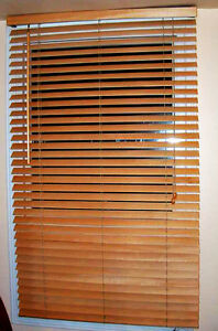 Two Horizontal Window Blinds