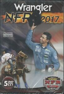 Complete 2017 Wrangler National Finals Rodeo - 5-DVD Set