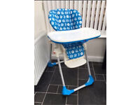 Chicco Polly 2 in 1 Highchair - Moon