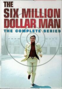 The complete Six Million Dollar Man series on DVD
