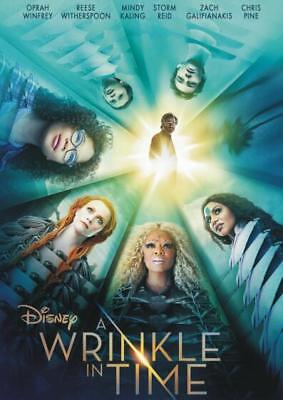 Wrinkle in Time (DVD 2018) ](Halloween Movies In French)