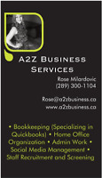 Freelance Bookkeeper and Office Admin