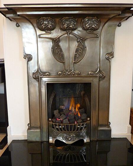 How To Buy An Art Nouveau Fireplace EBay