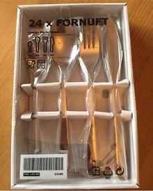 Förnuft cutlery 24 piece set brand new in box