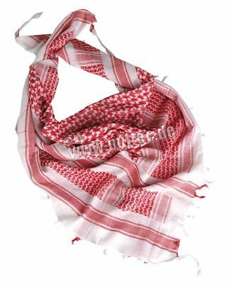 Palestinian Scarf - Plo Scarf Scarf Palestinian Shemagh White/Red Camo Scarf Army White Red