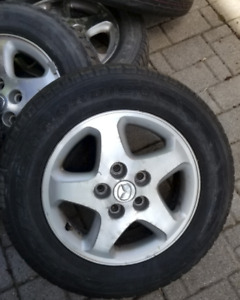 Nordic Icetrac tires on Original Mazda MPV rims P205/65R15 92S