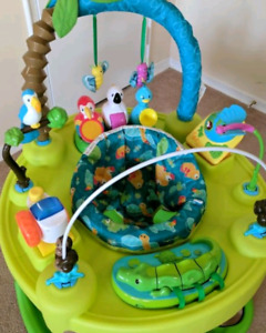 Evenflo Amazon Exersaucer with Playmat