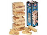 Traditional Mini Tumble Tower Game Brand New