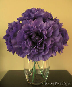 Custom Dyed Coffee Filter Peony Flower/ Wedding Decor Belleville Belleville Area image 5