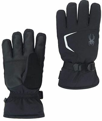 Spyder Men's Underweb Gore-Tex Glove, Size S, Color Black/Po