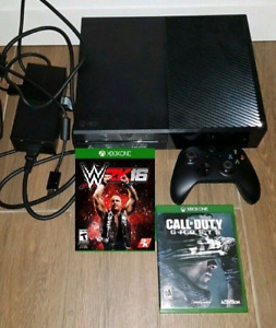 XBOX One 1TB bundle w 2 games Trade for PS4 Bundle or $270