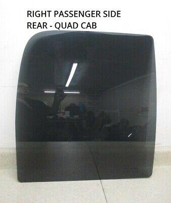02 to 09 Dodge Ram Quad Cab Right RH Passenger Rear Door Glass Window OEM