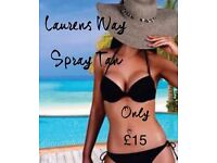 Mobile Spray Tanning in East Kilbride and Surrounding areas