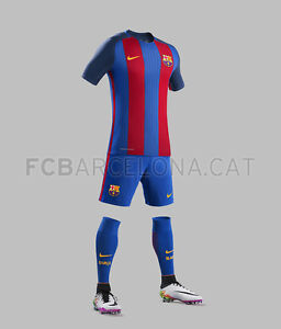 kids set Barcelona, jerseys and shorts Messi 10, for 6-10 years