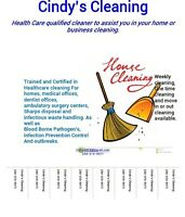 Health care cleaner