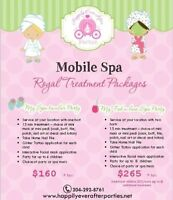 MOBILE SPA PARTIES IN WINNIPEG ~ Happily Ever After Parties