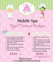 MOBILE SPA PARTIES IN WPG ~ Happily Ever After Parties