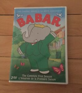 Babar Classic Television First Series 13 Episodes DVD Livres