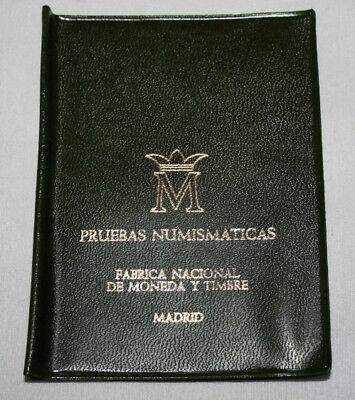 CARTERA CON MONEDAS SC 1977  PRUEBAS NUMISMATICAS FABRICA NACIONAL DE MONEDA, 3ª segunda mano  Embacar hacia Argentina