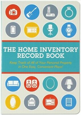 Home Inventory Record Book : Keep Track of All of Your Personal Property in (Inventory Record)