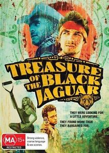 Treasure Of The Black Jaguar (DVD, Action) New/Sealed!