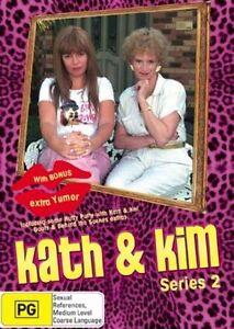 Kath & Kim : Series 2 (DVD, 2007, 2-Disc Set) New & Sealed