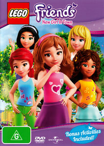 Lego Friends: New Girl in Town (Volume 1) * NEW DVD *