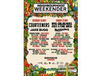 2x Saturday Neighbourhood Weekender Tickets 26th May